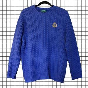 Vintage Ralph Lauren cable knit sweater